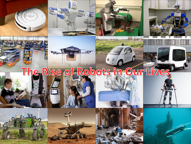 The Rise of Robots in Our Everyday Lives